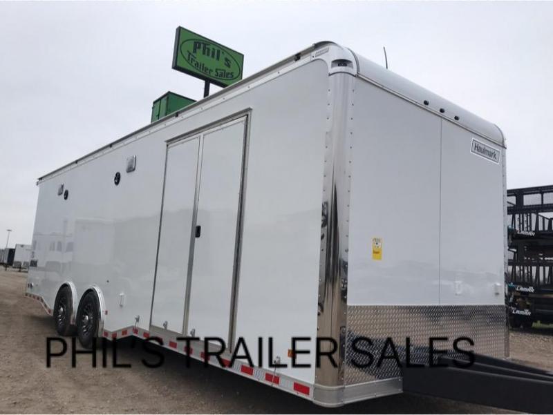 28 Haulmark Edge Pro Car Racing Trailer Loaded Enclosed