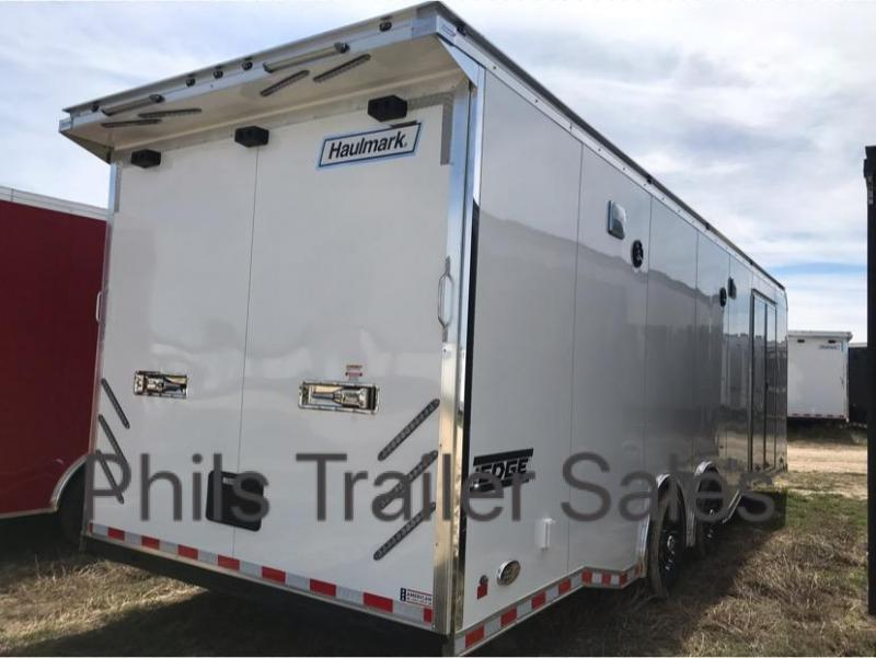 Peachy 28 Haulmark Edge Pro Car Racing Trailer Loaded Enclosed Trailers Wiring 101 Capemaxxcnl