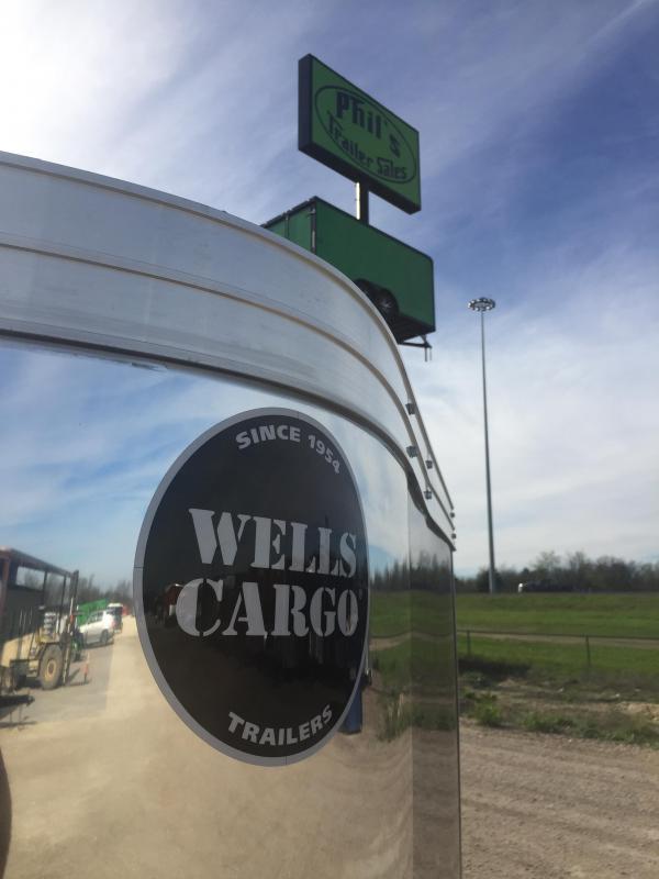 2017 Wells Cargo 7X14 ROAD FORCE Motorcycle Trailer