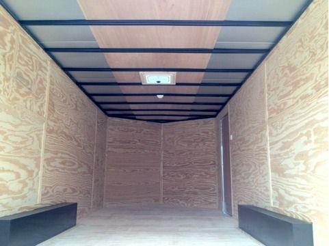 Lark Cargo Trailer 85x20ta v nose Ramp door CarHauler