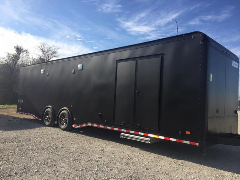 2017 32' tandem  Haulmark EDGE Car / Racing Trailer
