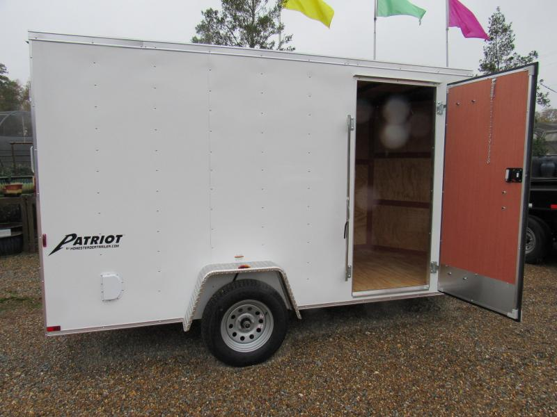 2017 6X12 Homesteader Enclosed Cargo Trailer
