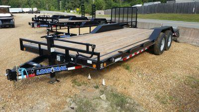 "2016 Load Trail 102"" x 22' Tandem Axle Carhauler Trailer"