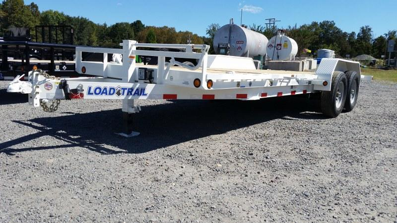 "2017 Load Trail 81.5"" x 20' Tilt Deck w/Gravity Equipment Trailer"