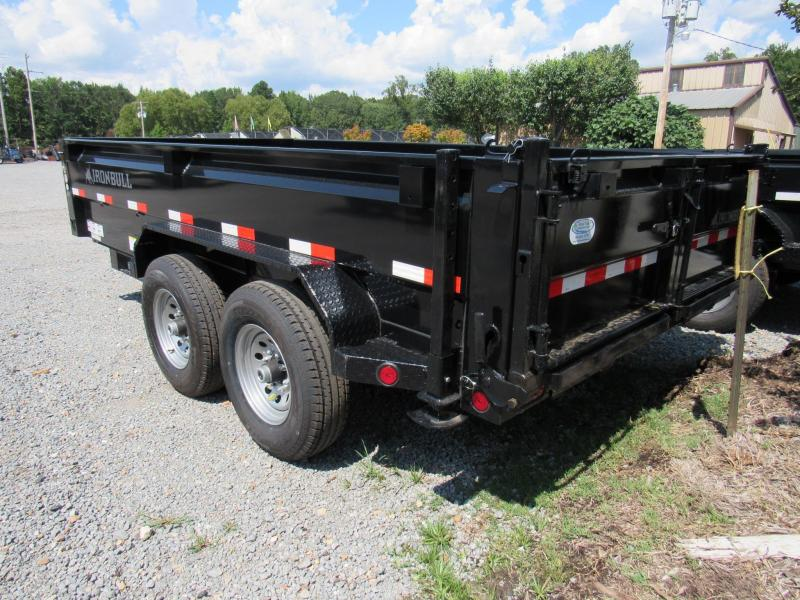"2017 Iron Bull 83""x 14' Low-Pro Dump Trailer"