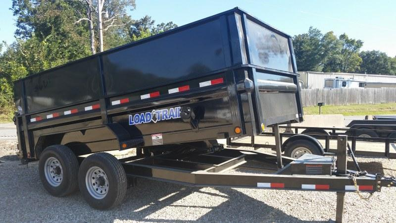 "2017 Load Trail 83""x14' Low Pro Tandem Axle Dump Trailer"