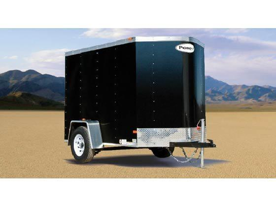 2016 Haulmark Trailers PPT5X8DS2 Enclosed Cargo Trailer
