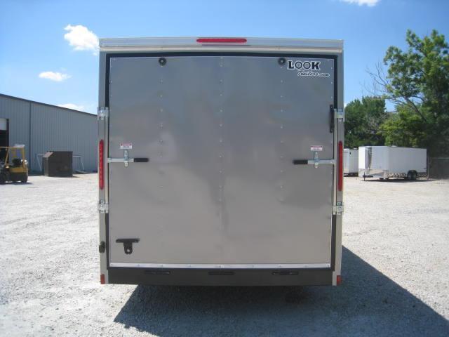 2018 Look Element 7 X 16 Vnose Enclosed Cargo Trailer