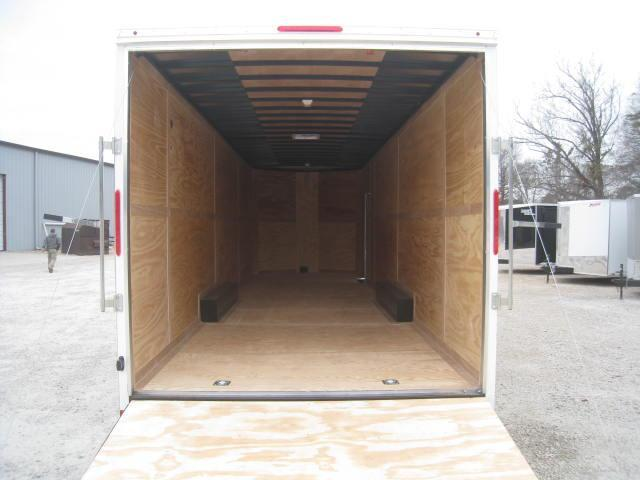 2018 Look Trailers EWLF85X28TE3 ELEMENT 28' VNOSE WITH 8' OF INSIDE HEIGHT
