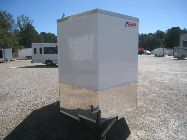 2018 Pace American Journey 5 X 8 Vnose Cargo Trailer