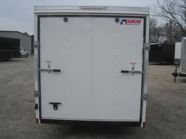 2018 Pace American Journey 6x14 Vnose Enclosed Cargo Trailer