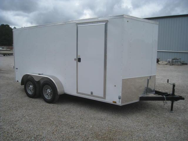 2018 Look ST 7 X 14 Vnose Enclosed Cargo Trailer