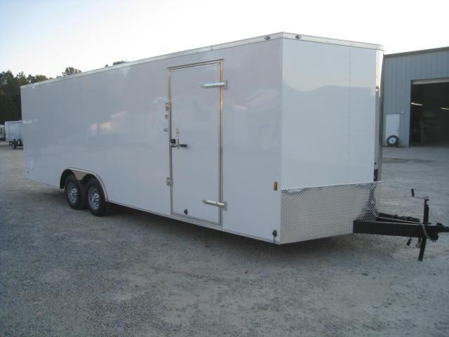 2018 Continental Cargo Sunshine 8.5 X 24 Vnose Enclosed