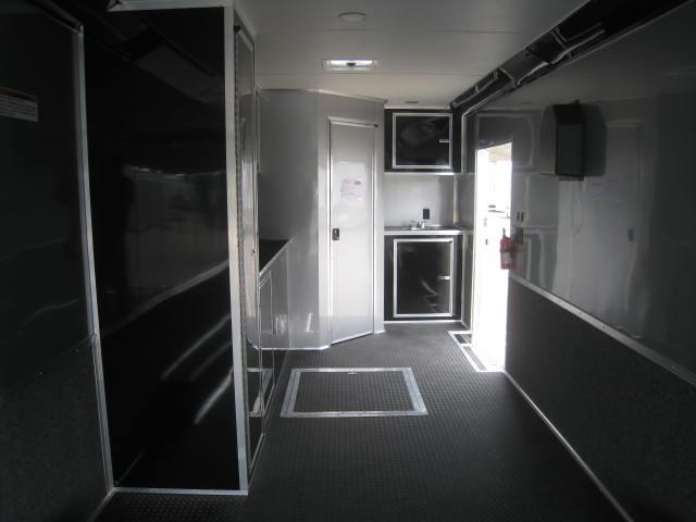 2017 Cargo Mate Eliminator 8.5 X 34 w/ Full Bathroom PKG