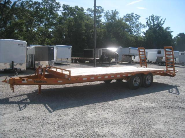 2017 Hudson Brothers HTMBH 21' Deckover 6 Ton Equipment Trailer