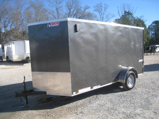 2018 Pace American Journey 6x12 Vnose Enclosed Cargo Trailer