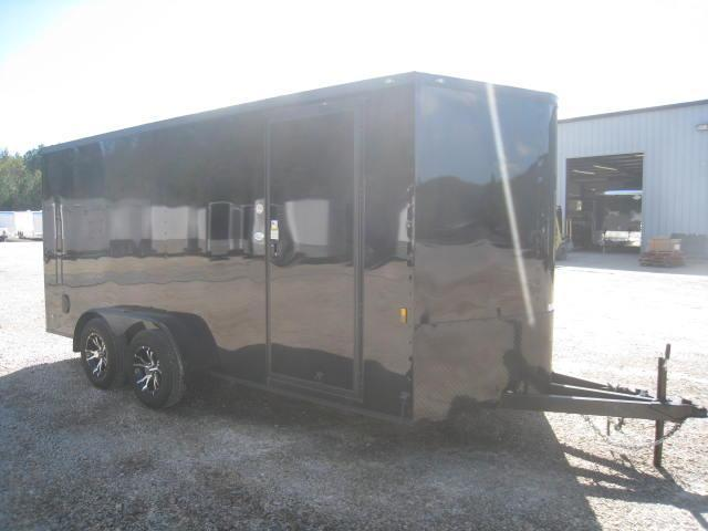 2018 Continental Cargo Sunshine 7 X 16 Vnose Enclosed