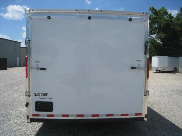 2018 Look Vision 8.5 X 24 Enclosed Car Trailer
