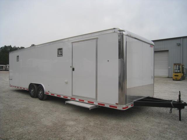 2018 Pace American Shadow 28' Car / Racing Trailer Loaded