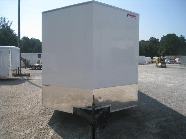 2018 Pace American Journey 8.5 X 20 Vnose Cargo Trailer with 7.6 Inside Height