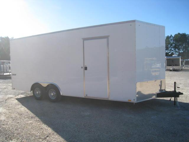 "2018 Pace American JV85X20TE3 20' VNOSE WITH 12"" EXTRA HEIGHT"