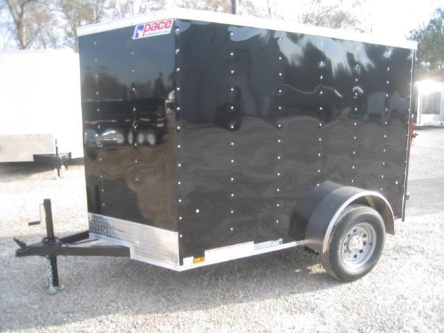 2018 Pace American Outback 5x8 Vnose Enclosed Cargo Trailer
