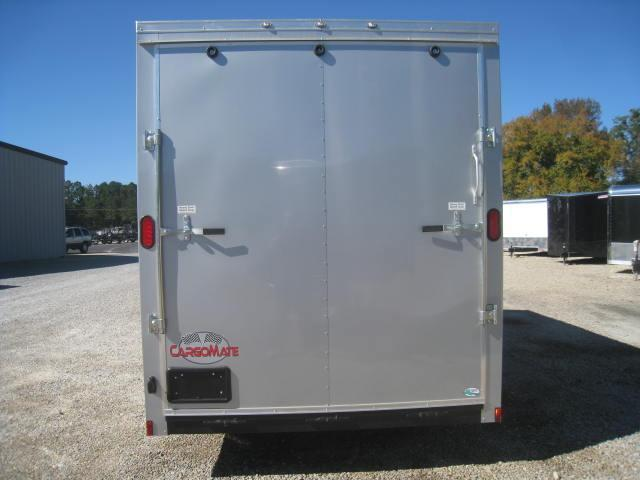 """2018 Continental Cargo Sunshine 7 X 16 Vnose Enclosed with 12"""" Extra Height"""