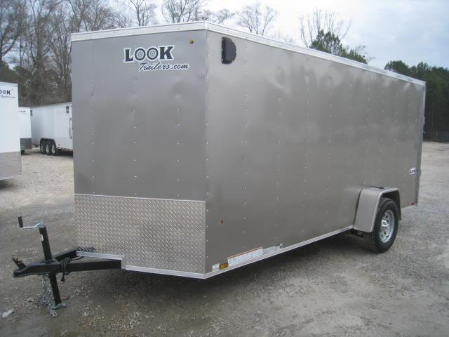 2018 Look Trailers Element 6x14 Vnose Enclosed Cargo Trailer