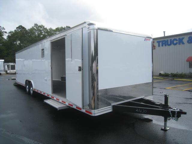 2018 Pace American Shadow 8.5 X 32 Car Trailer