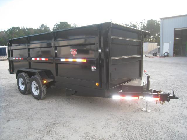 "2018 PJ DC High Side 16 X 83"" Dump Trailer"