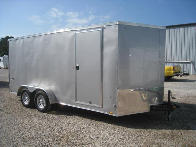 2018 Look Element 7 X 16 Vnose Enclosed Cargo Trailer