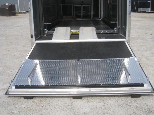 2018 Cargo Mate Aluminum Eliminator 28' Stacker Car / Racing Trailer