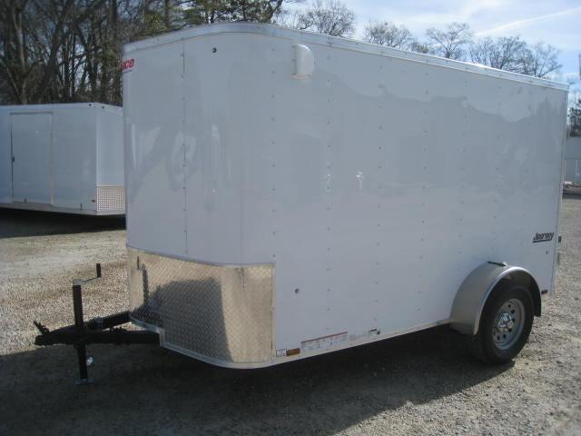 2018 Pace American Journey 6 X 10 Vnose Cargo Trailer