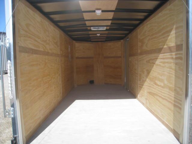 2018 Pace American Cargosport 7 X 16 Vnose Cargo Trailer