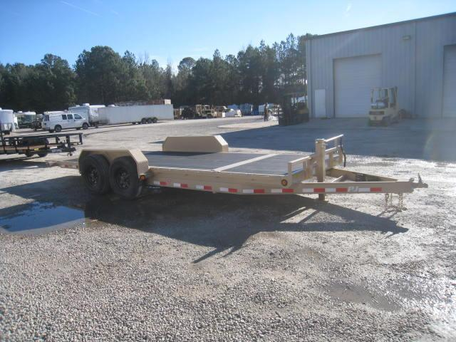 2018 PJ Trailers T6 20' Tilt Equipment Trailer