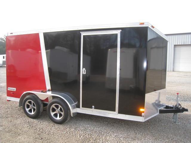 2015 Haulmark 7 X 14 Transport Vnose Enclosed Cargo Trailer