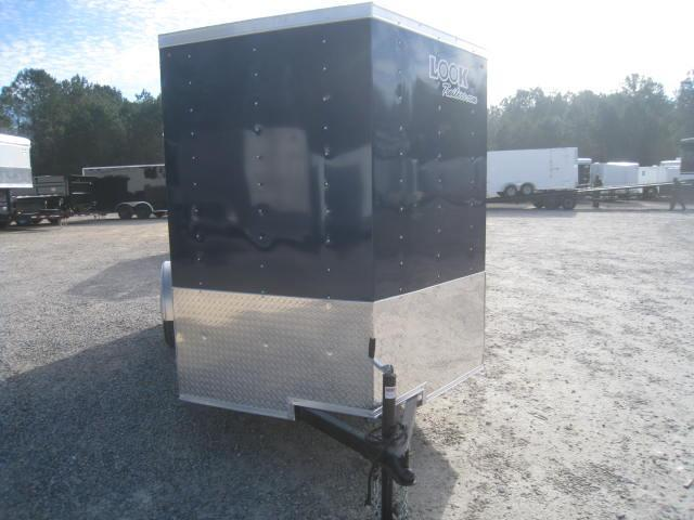 2018 Look Trailers Element 6x12 Vnose Enclosed Cargo Trailer
