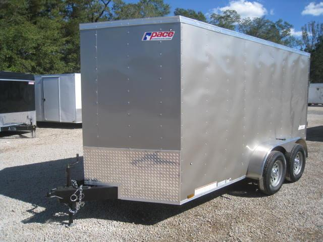 2018 Pace American JV6X12TE2 6X12 Vnose Enclosed Cargo Trailer