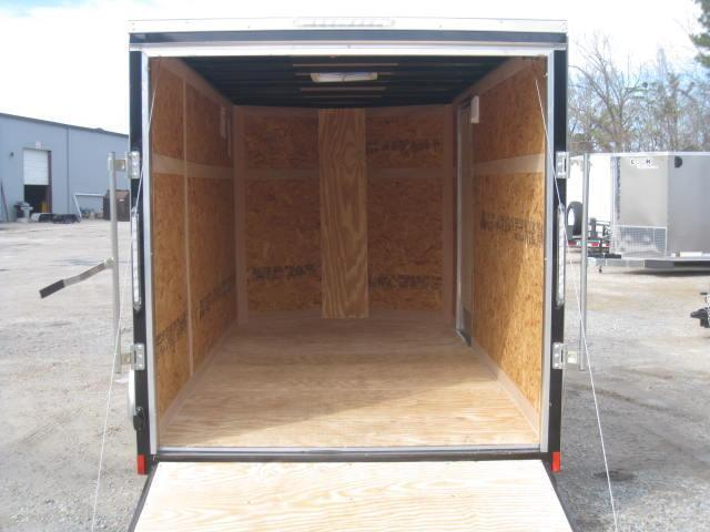 2019 Pace American Outback 6x12 Vnose Enclosed Cargo Trailer