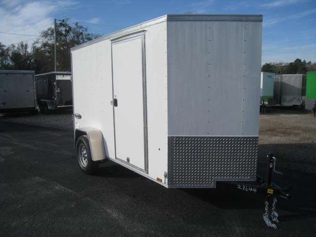 2018 Look Element 5 X 10 Vnose Enclosed Cargo Trailer
