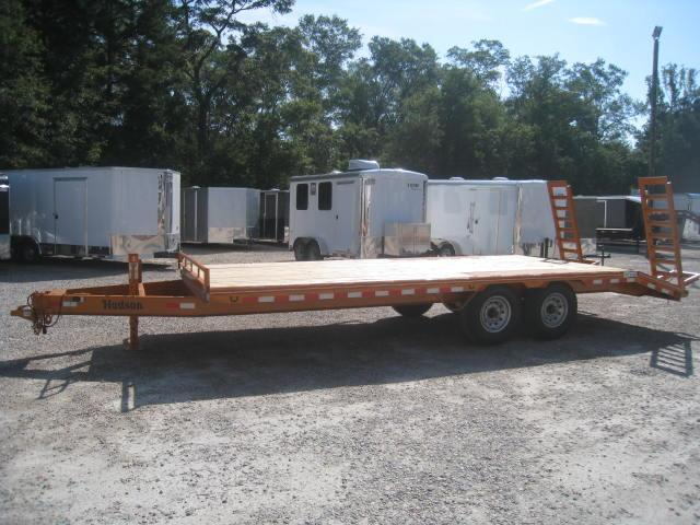 2017 Hudson Brothers HTMBH 21' Deckover 7 Ton Equipment Trailer