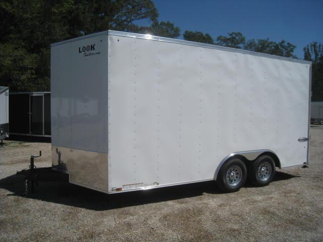 2018 Look Element 8.5 X 16 Vnose Enclosed Cargo Trailer