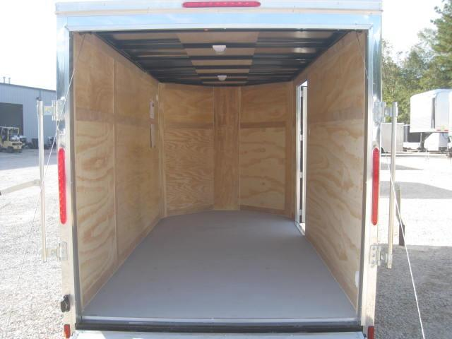 2018 Look Vision 6 X 12 Vnose Enclosed Cargo Trailer