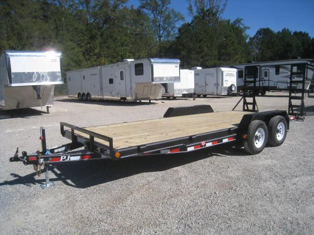 2018 PJ CE 83 X 20 Equipment Trailer