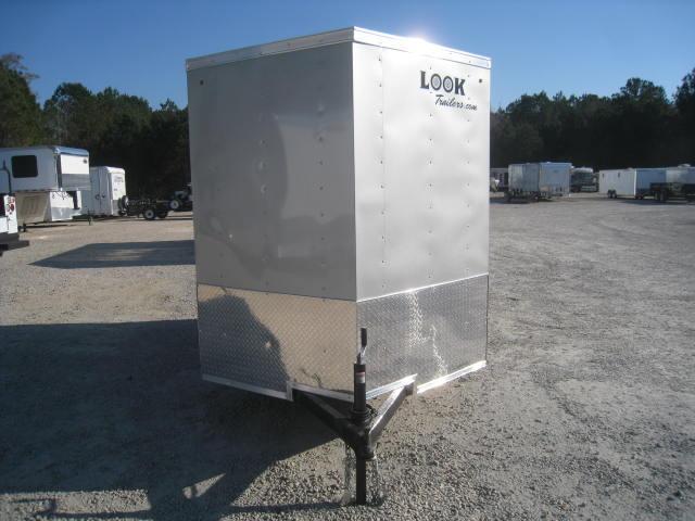 2018 Look Element 6 X 10 Vnose Enclosed Cargo Trailer