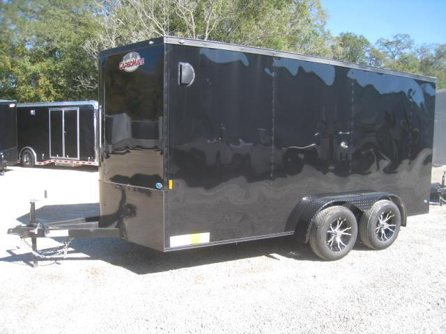 2018 Continental Cargo Sunshine 7 X 14 Vnose Enclosed