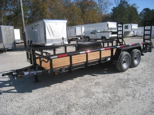 2018 Texas Bragg Trailers 18BP Equipment Trailer With 6k Axles