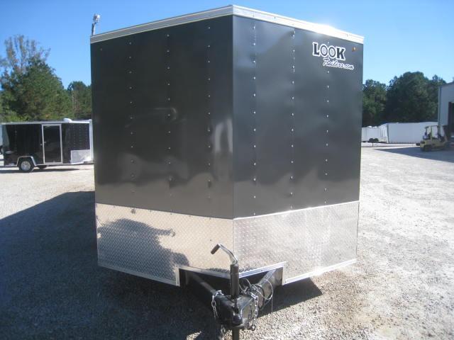 2018 Look Element 8.5 X 24 Vnose Enclosed Cargo Trailer