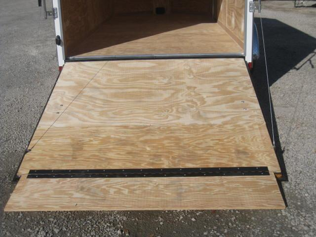 2018 Pace American 7x14 Vnose Enclosed Cargo Trailer