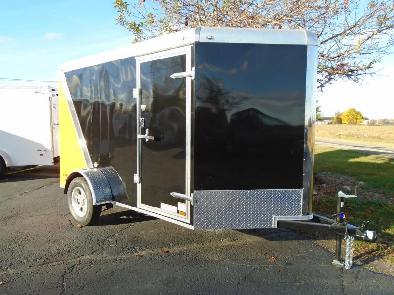 2017 Continental Cargo 6 X 10 Tail Wind Enclosed Cargo Trailer
